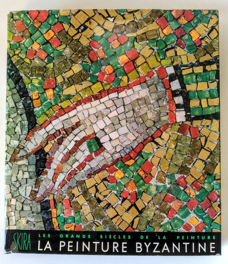 """Prezioso volume: """"LA PEINTURE BYZANTINE"""", dalla collana """"Les grands siècles de la peinture"""", SKIRA editore, 1953. Autore: André Grabar. Illustrazioni in bianco e nero e a colori. Misura cm. 25 x 28, spessore cm.4."""