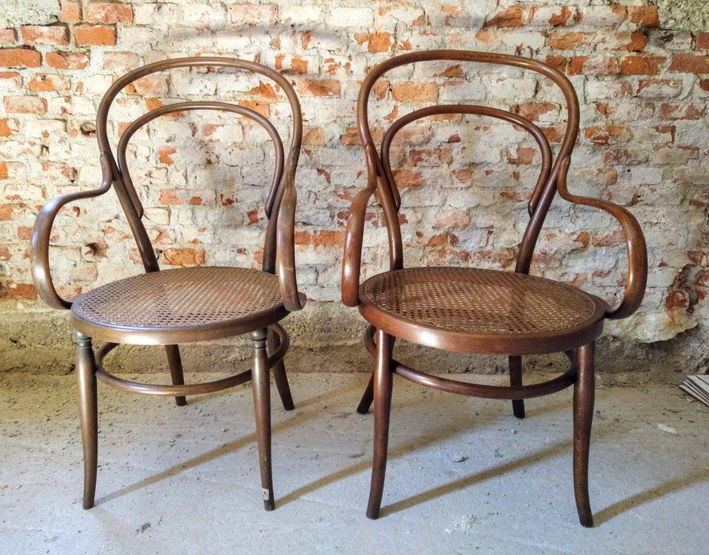 2 sedie - poltroncine Thonet
