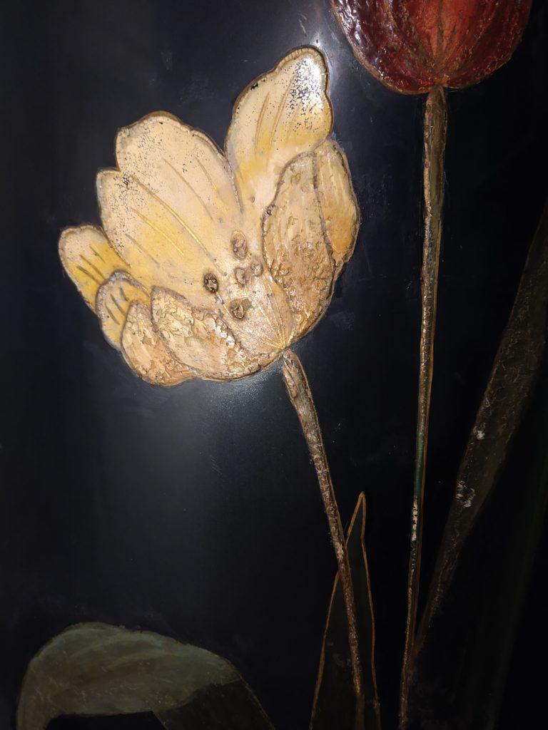 Parafuoco fiore giallo